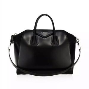 Givenchy Medium Glazed Antigona 2Way Handbag